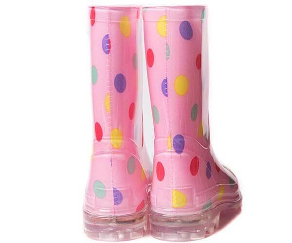 Light-up Children Rain Boots Hot sale