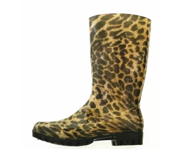 Work Boots Cheap Rain Boots Gumboots printed! Welcome Your Own Design! leopard