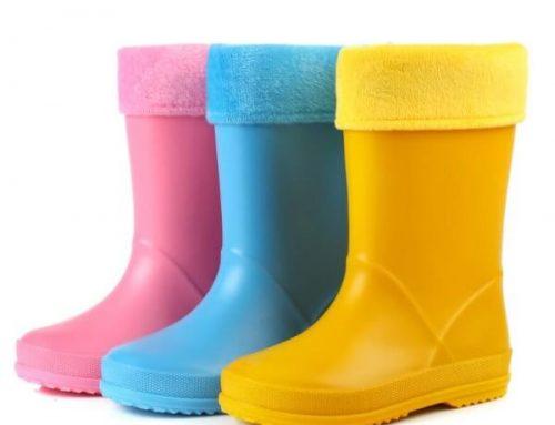 Kid's Warm Rain Boots