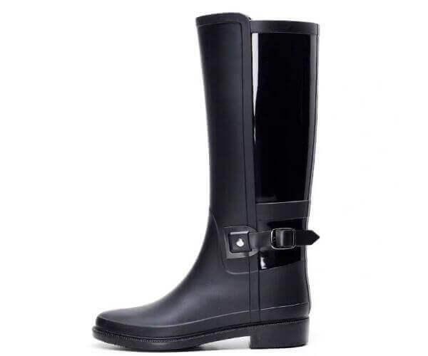fashion ladies tall rain boots 6