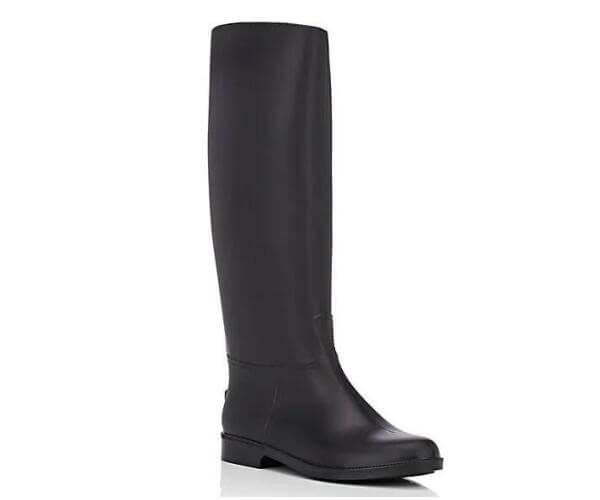 horse riding knee high women rain boots 1