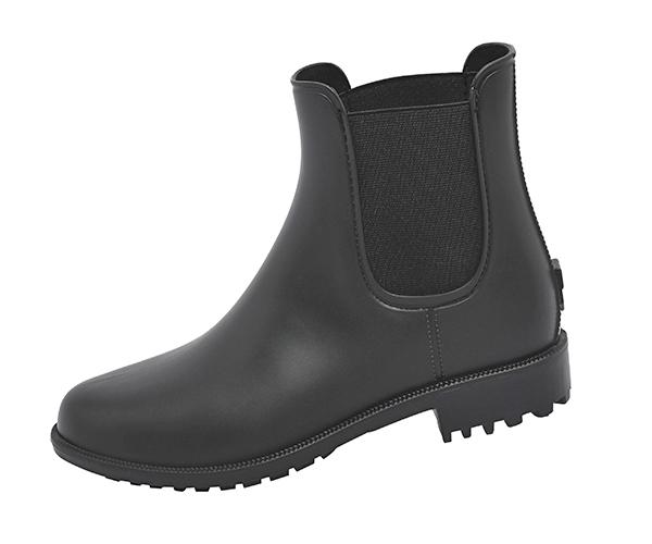 Womens Ankle Rain Boots Matte