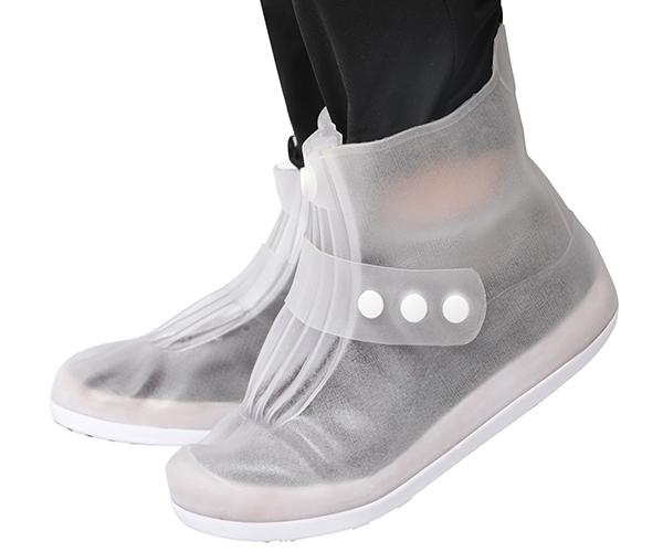 2020 TOP NEW! Waterproof Non-Slip Rubber Rain Shoe Covers, Reusable Boot Overshoes