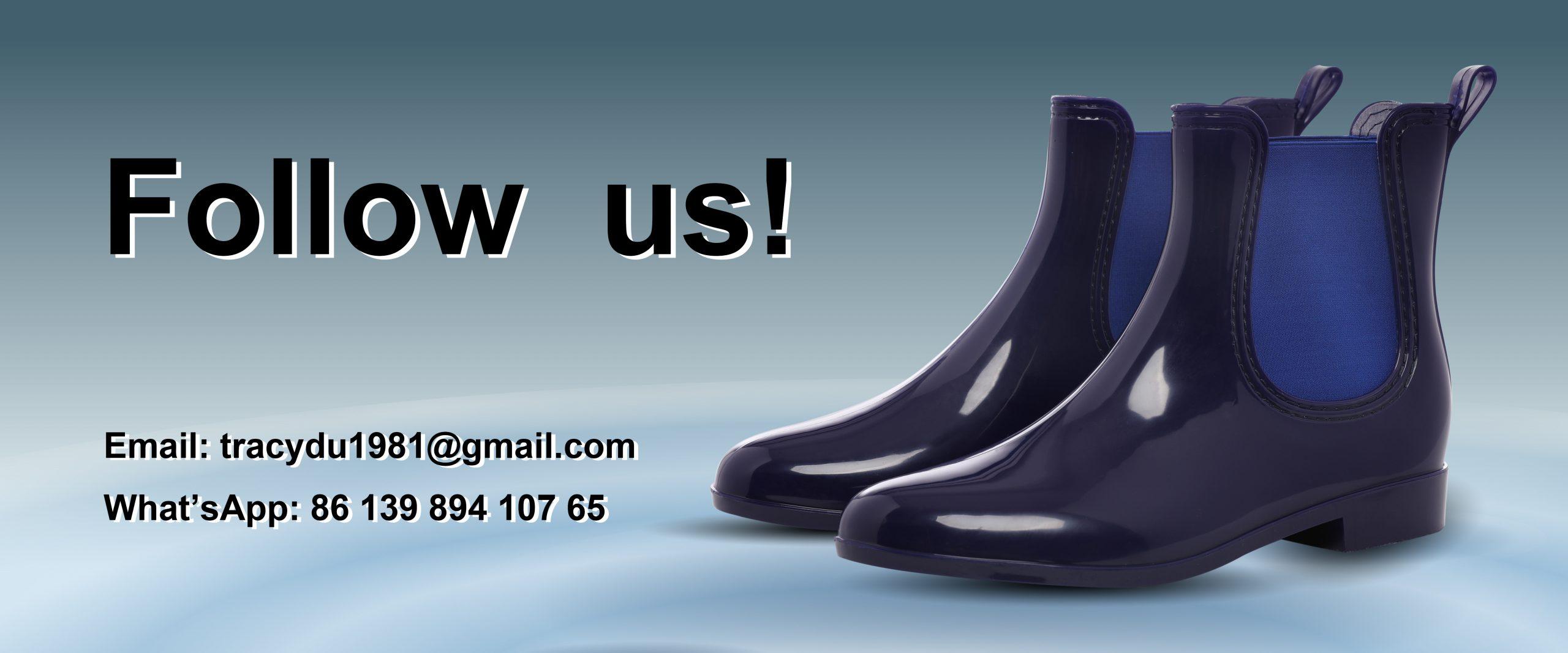 rain boots banner