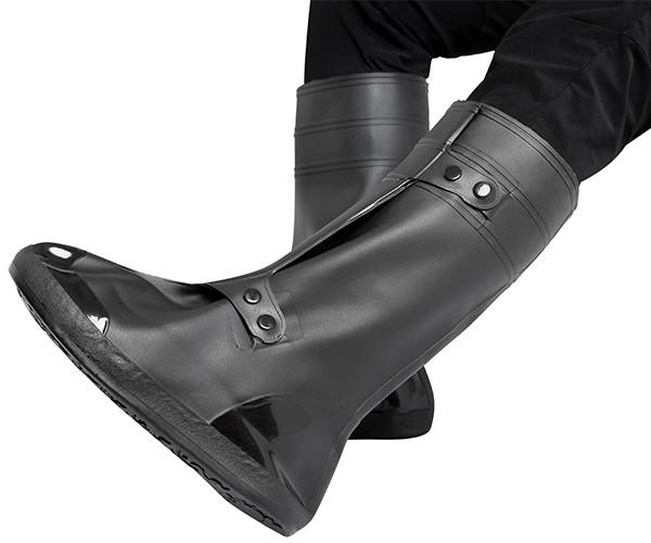 Kneehigh Rubber Overshoes Galoshes Waterproof Rain Snow