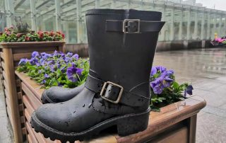 2021 One Pair Of Special boots—Mid Height Motor Rain Boots