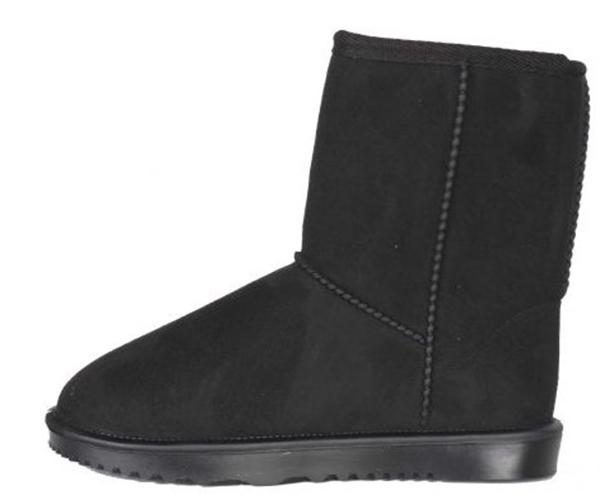 Waterproof Snow Boots black