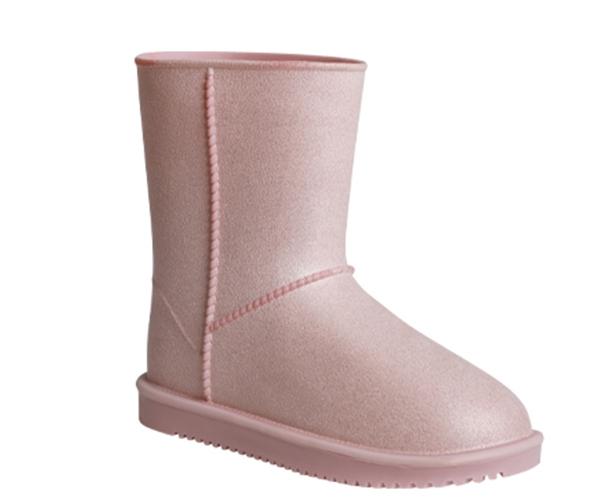 Waterproof Snow Boots pink