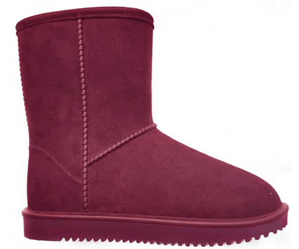Waterproof Snow Boots red